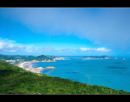 鸟瞰嵊泗列岛