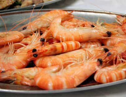 美味海虾 图片来源:阿溪 新浪博客