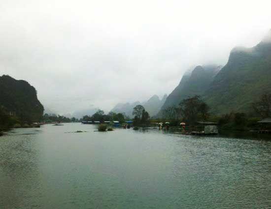遇龙河漂流 图片来源:小白 新浪博客