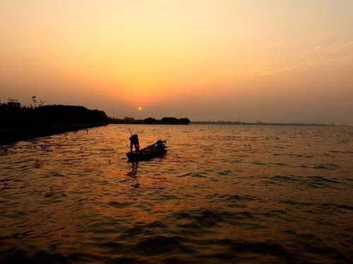 青浦淀山湖