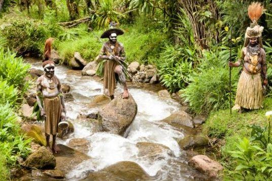 巴布亚新几内亚的原始部族