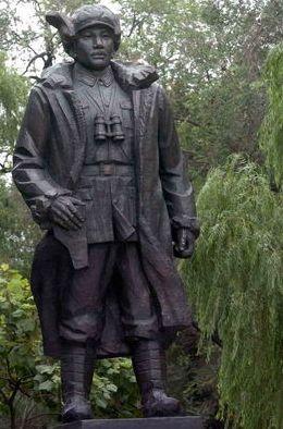 哈尔滨尚志公园雕塑