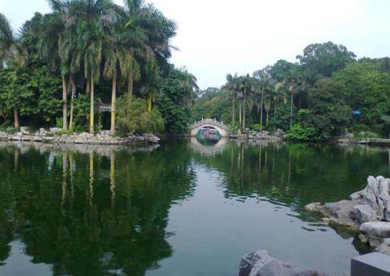 湖上的拱桥 图片来源:laychungy 新浪博客