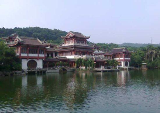水月庵边的建筑 图片来源:laychungy 新浪博客