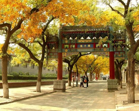 寻找老北京的记忆 国子监街_新浪旅游_新浪网