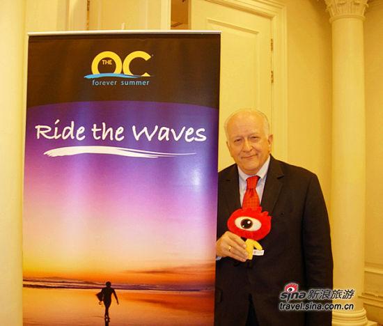 美国加州橙县观光协会(OCVA)总裁兼首席执行官Ed Fuller先生