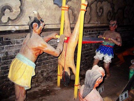 古代日本惩罚女犯变态酷刑-惩罚女犯的十二大酷刑 开颅图片