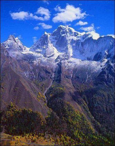 四姑娘山中国的阿尔卑斯