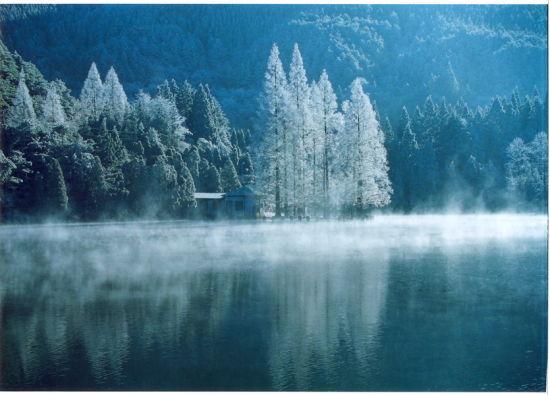 冬季的庐山