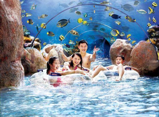 新加坡圣淘沙名胜世界水上探险乐园