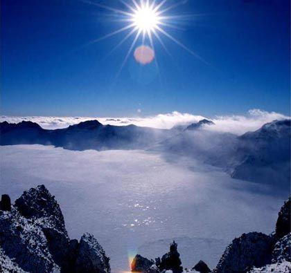冬季游玩长白山 听怪兽传说赏大美天池
