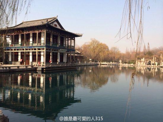 济南五龙潭(图片来自�l是最可�鄣娜�315)