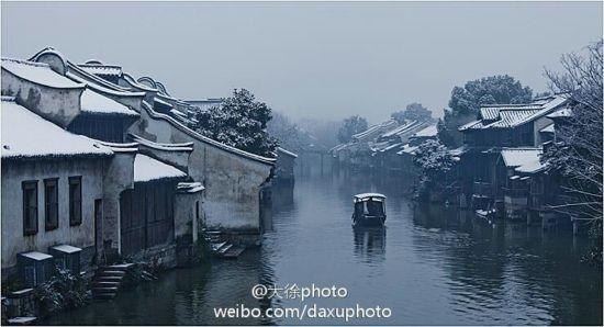 乌镇雪景 图摄/大徐photo