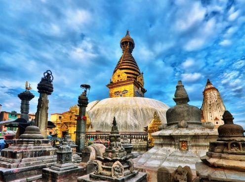 """""""猴庙""""――加德满都的地标性寺庙"""