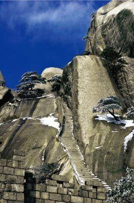 天柱山奇石异态