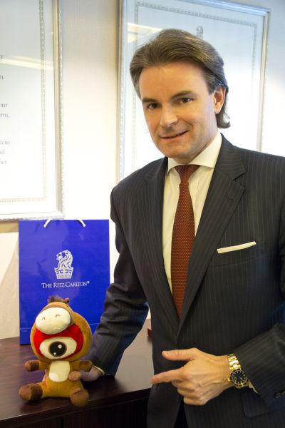 北京金融街丽思卡尔顿酒店区域总经理狄艾文先生
