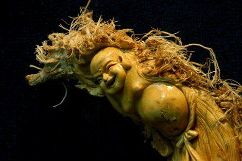 宜宾蜀南竹海自然天趣根雕工艺