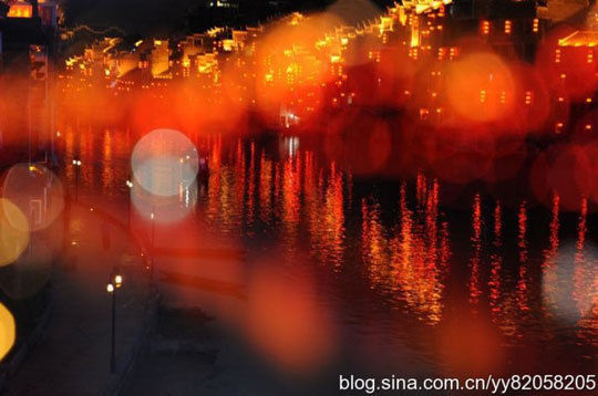 镇远的夜(图:shala)