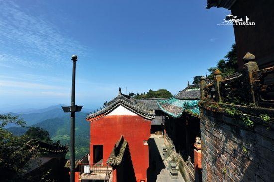 武当山的古建筑堪称一绝