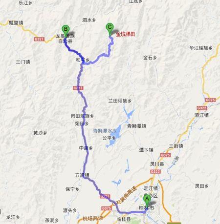 龙胜地图 资料图