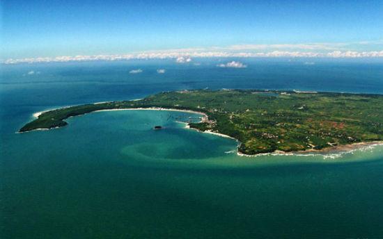 美丽的涠洲岛 图:新浪图库