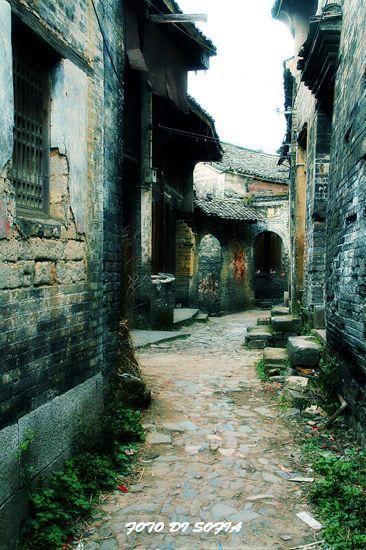 古老的街巷