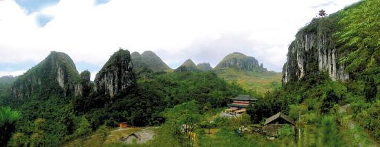 贵州荔波观音峰