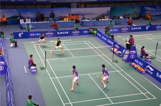 2014年中国(陵水)国际羽毛球挑战赛在陵水开赛