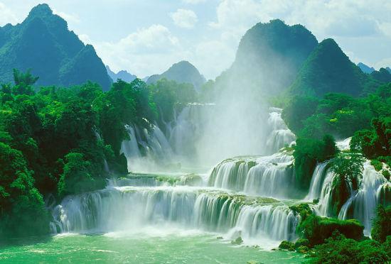 广西德天大瀑布