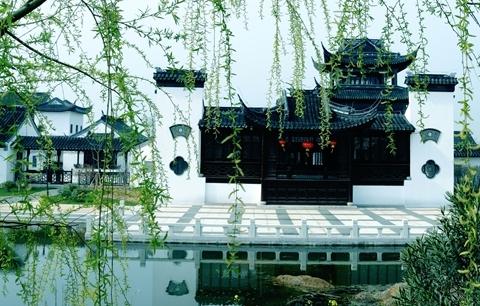 凤凰山景区-河阳山歌馆