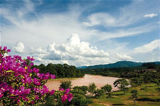 中国科学院西双版纳热带植物园的迷人景色