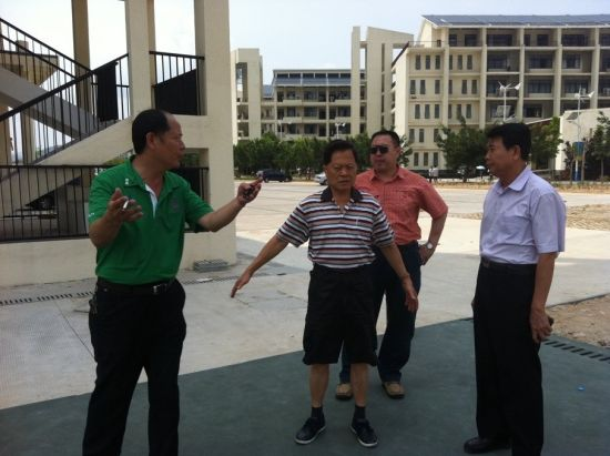 2014(第六届)木球世界杯考察团莅临三亚
