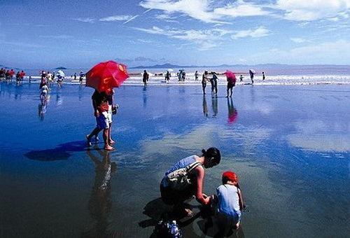 浙江十大最美沙滩 与阳光碧海蓝天相拥(组图)