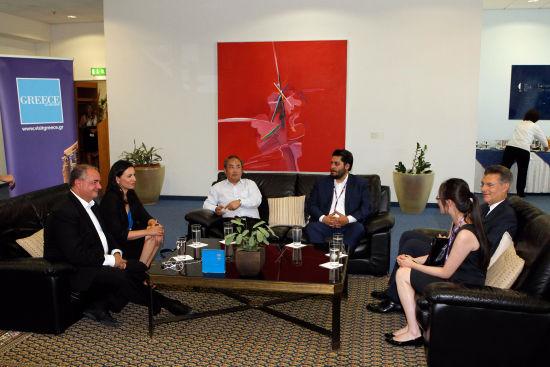 希腊国家旅游组织与旅行社代表洽谈