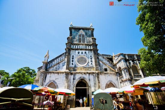 动漫欧式教堂建筑
