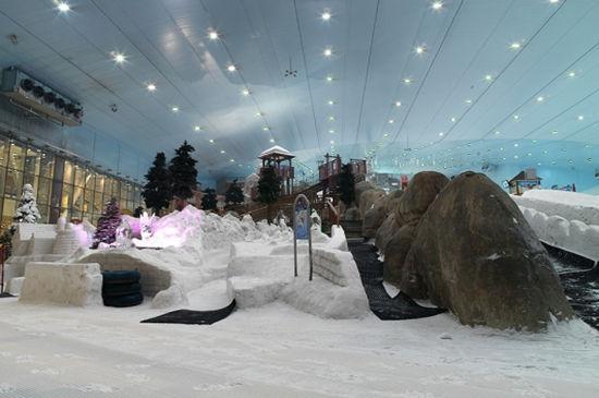 迪拜滑雪村