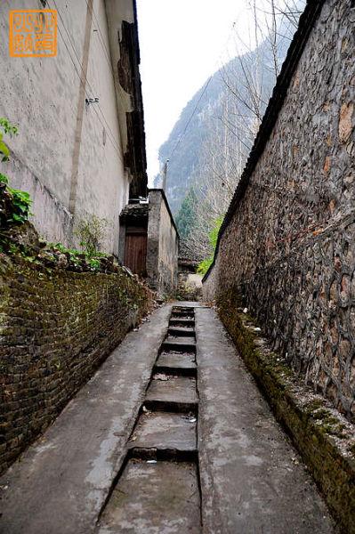 兴坪的老巷子