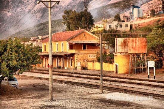 曾经有名的火车站现在已经退出历史舞台