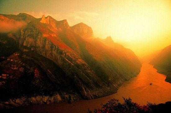 郴州最美组图:长江三峡(视频)峡谷v组图中国图片