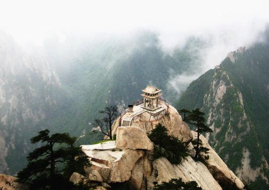 中国著名的五岳之一