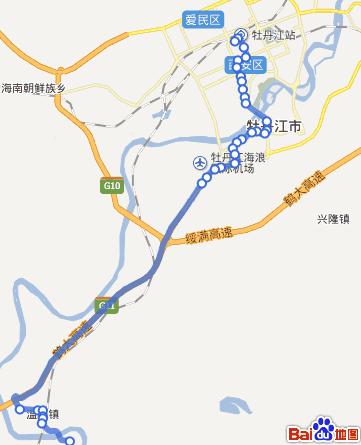 牡丹江奇葩公交线路 17路