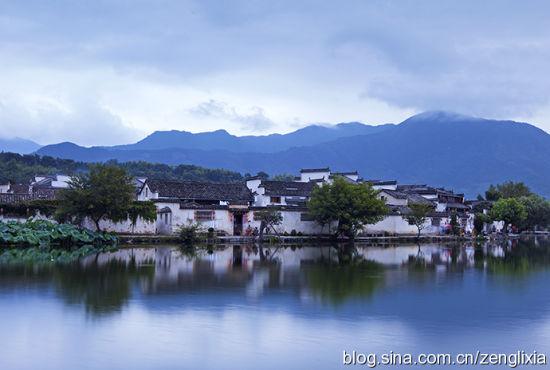 宏村美景宛如山水画