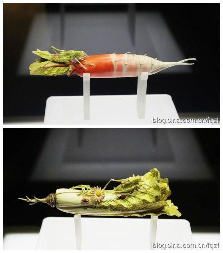 象牙萝卜象牙白菜 图片来自:眯眯眼拍天下