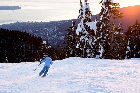 不列颠哥伦比亚省滑雪