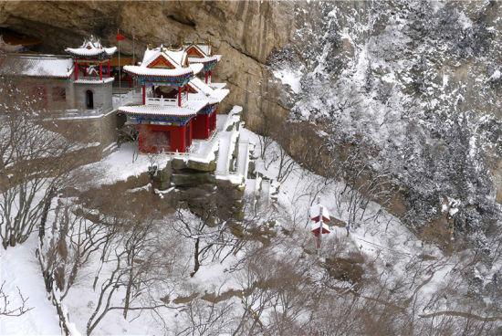 石膏山雪景 图来源于网络
