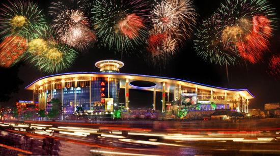 新浪旅游配图:汉口江滩 图片来源于网络