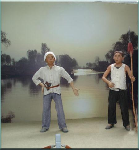 白洋淀之窗展品 图片来源:新浪博主 小雪