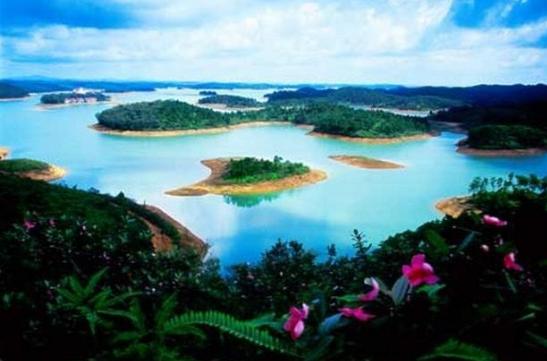 合浦星岛湖