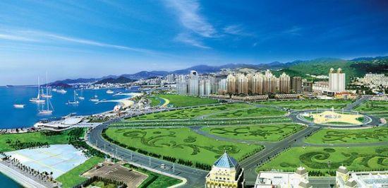 新浪旅游配图:星海广场 摄影:图片来自网络