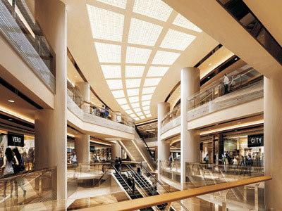 现代酒店内部结构
